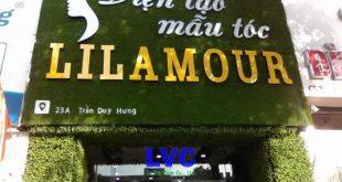 Cỏ nhân tạo ốp tường, Cỏ nhân tạo, Viện mẫu tóc Lilamour, Công ty LeHa Vina, Thảm cỏ nhân tạo