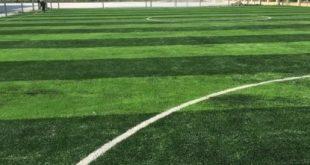 Sân bóng đá, Sân bóng đá Mê Linh, Cỏ tự nhiên, Cỏ nhân tạo, Công ty LeHa Vina