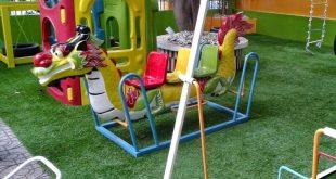 Cỏ nhân tạo, Thi công cỏ nhân tạo, Công ty Leha Vina, Cỏ nhân tạo cho sân vườn, Trường mầm non Đồng Mác