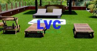 Thi công cỏ nhân tạo sân vườn, Cỏ nhân tạo, Cung cấp cỏ nhân tạo, Công ty Lê Hà, Cỏ nhân tạo sân vườn
