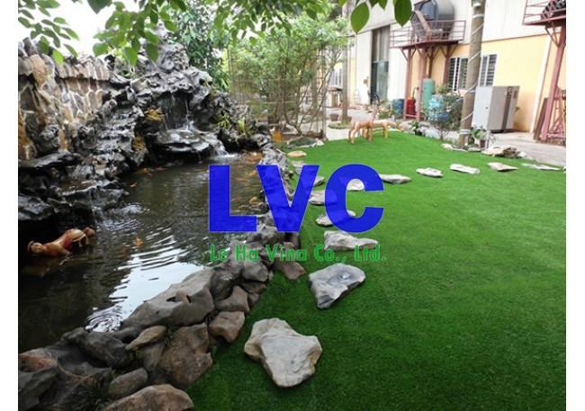 Cỏ sân vườn nhân tạo, Công ty Lê Hà Vina, Cỏ sân vườn, Sân vườn, Cỏ nhân tạo