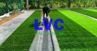 Thi công sân cỏ nhân tạo, Sân cỏ nhân tạo, Cỏ nhân tạo, Thảm cỏ nhân tạo, Trải cỏ nhân tạo