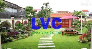 Nhà có sân vườn đẹp, Sân vườn đẹp, Sân vườn, Cỏ nhân tạo sân vườn, Không gian sân vườn