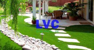 Thảm cỏ giả trang trí, Thảm cỏ giả trang trí sân vườn, Sợi cỏ nhân tạo, Cỏ tự nhiên, Sợi cỏ nhân tạo