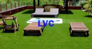 Cỏ nhân tạo sân vườn, Cỏ nhân tạo, Lê Hà Vina, Trang trí sân vườn, Thi công cỏ nhân tạo
