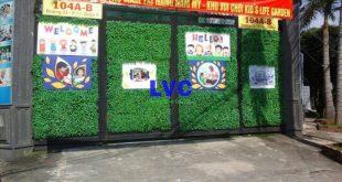 Thảm cỏ nhựa treo tường, Cỏ giả trang trí tường, Cỏ giả ốp tường, Thảm cỏ nhân tạo, Cây cỏ giả