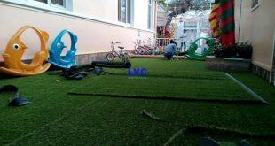 Thi công cỏ nhân tạo trang trí sân nhà, Công ty Lê Hà Vina, Cỏ nhân tạo trang trí sân nhà, Thảm cỏ nhân tạo trang trí, Trang trí sân vườn