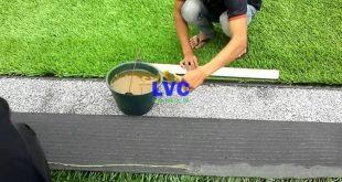 Thi công cỏ nhân tạo sân bóng, Lê Hà Vina, Sân bóng đá, Làm sân bóng cỏ nhân tạo, Cỏ nhân tạo