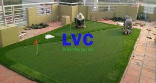 Cỏ nhân tạo cho sân golf, Sân golf, Sân golf cỏ nhân tạo, Cỏ nhân tạo, Thi công cỏ nhân tạo cho sân golf, Lê Hà Vina