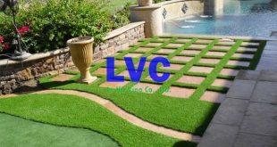 Cỏ nhân tạo sân vườn giá rẻ, Cỏ nhân tạo sân vườn, Cỏ sân vườn, Lê Hà Vina, Mua cỏ nhân tạo