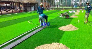 Sân bóng cỏ nhân tạo, Thi công sân bóng cỏ nhân tạo, Cỏ nhân tạo, Sân cỏ nhân tạo, Lê Hà Vina
