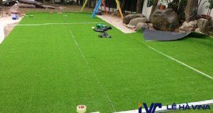 Bảo dưỡng sân cỏ nhân tạo, Sân cỏ nhân tạo, Cỏ nhân tạo, Chăm sóc công trình cỏ nhân tạo, Lê Hà Vina