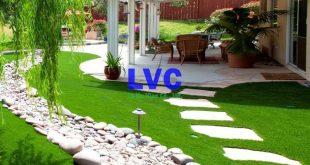 Cỏ nhân tạo sân vườn LH25AT, Cỏ nhân tạo sân vườn, Cỏ nhân tạo, Lê Hà Vina, Cung cấp cỏ nhân tạo