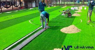 Chi phí thi công cỏ nhân tạo, Thi công sân cỏ, Cỏ nhân tạo, Sân bóng đá cỏ nhân tạo, Giá thi công sân cỏ nhân tạo