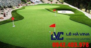 Cỏ nhân tạo sân golf LH49C, Cỏ nhân tạo, Cỏ nhân tạo của Lê Hà Vina, Cỏ giá rẻ, Cỏ nhân tạo sân golf