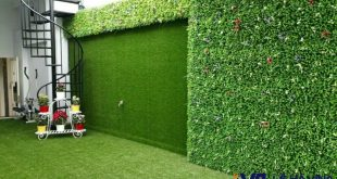 Vách cỏ nhân tạo trang trí cửa hàng, Vách cỏ nhân tạo, Lê Hà Vina, Cỏ nhân tạo, Vách cỏ nhân tạo trang trí