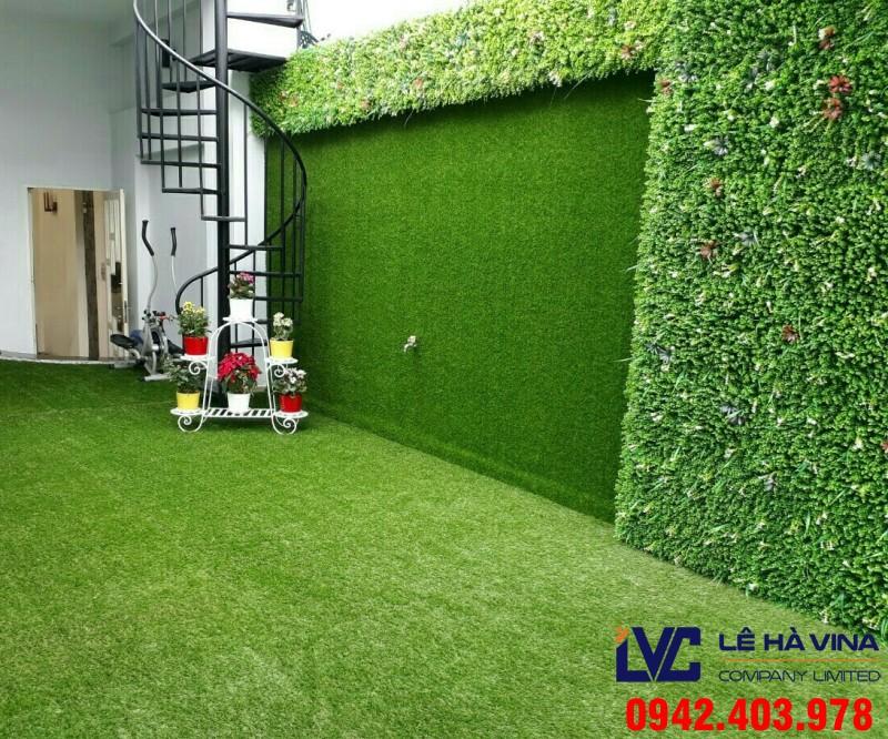 Thảm cỏ trang trí tường, Thảm cỏ nhân tạo, Thảm cỏ, Cách vệ sinh thảm cỏ, Lê Hà Vina
