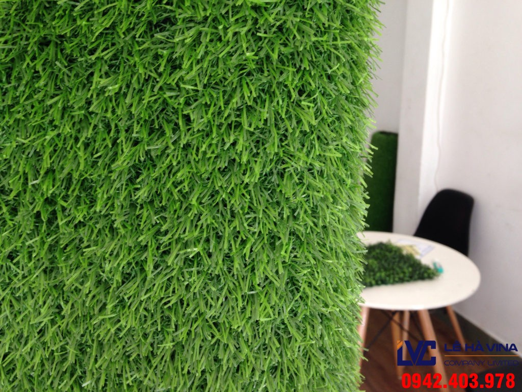 Tường cỏ nhân tạo, Thảm cỏ nhân tạo, Cỏ nhân tạo trang trí tường, Thi công tường cỏ nhân tạo