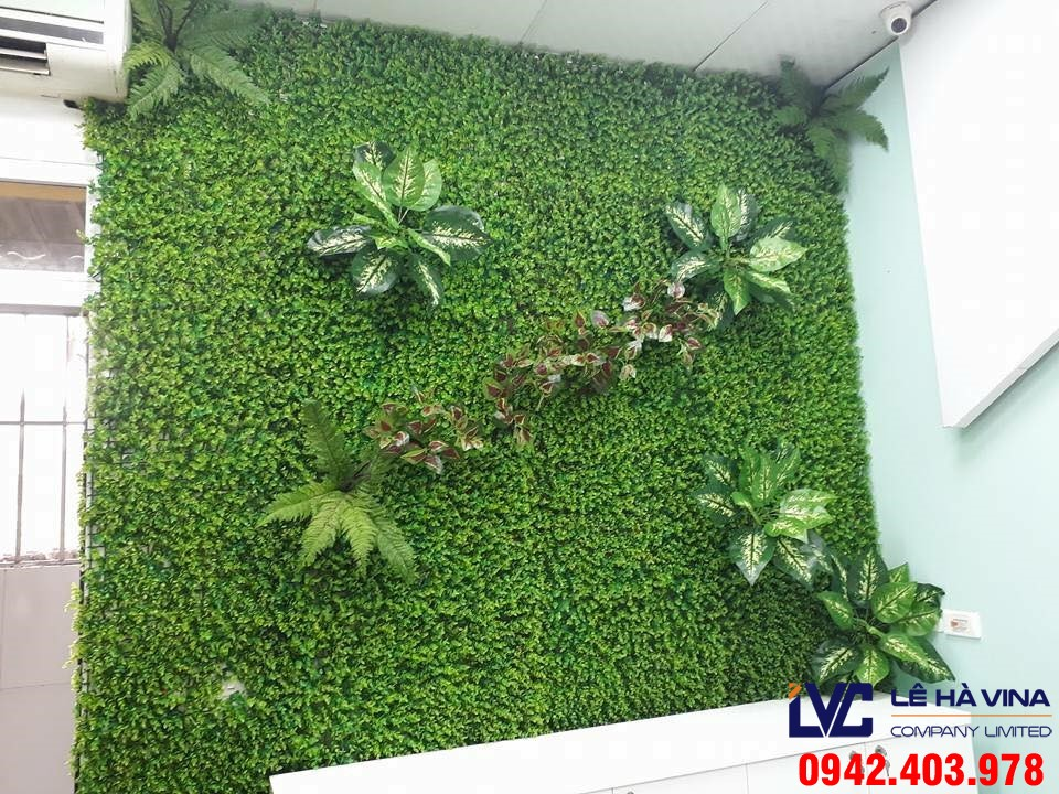 Tường cỏ giả, Thảm cỏ nhân tạo, Dán tường cỏ, Thi công tường cỏ giả, Cỏ nhân tạo