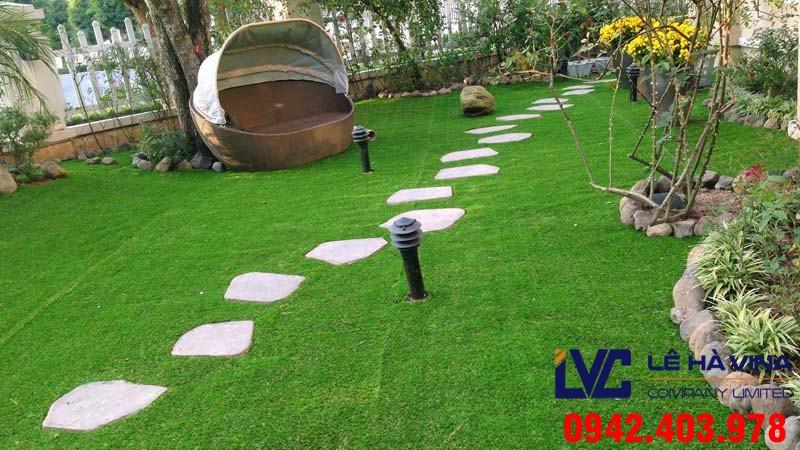 Cỏ nhân tạo sân vườn, Cỏ nhân tạo sân vườn LH21DB, Lê Hà Vina, Cỏ nhân tạo