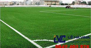 Cỏ nhân tạo sân bóng đá, Lê Hà Vina, Cỏ nhân tạo LH24SC, Sân bóng đá cỏ nhân tạo, Cỏ nhân tạo