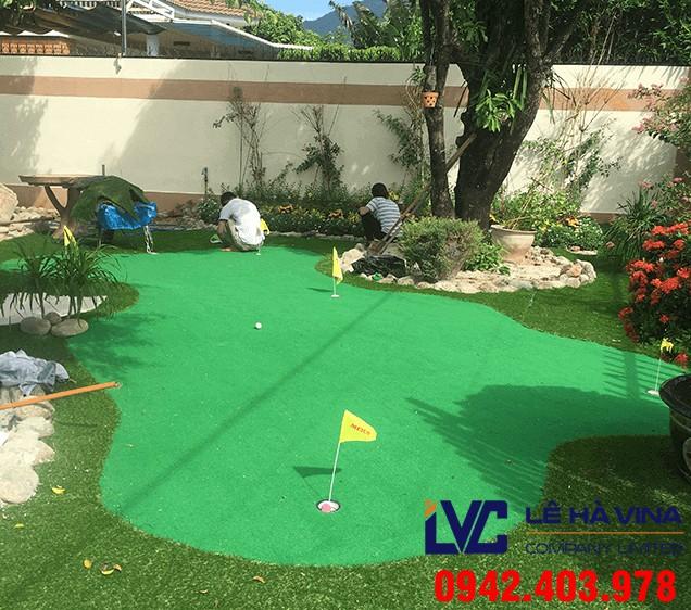 Lắp đặt sân golf, Lê Hà Vina, Cỏ nhân tạo, Lắp đặt cỏ nhân tạo sân golf, Sân golf cỏ nhân tạo