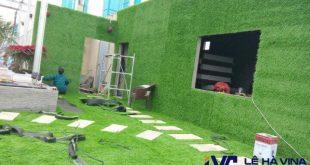 Cách trang trí thảm cỏ, Lê Hà Vina, Thảm cỏ, Cỏ nhân tạo, Thảm cỏ dán tường