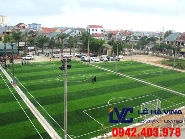 Sân bóng đá nhân tạo 5 người, Dịch vụ làm sân cỏ nhân tạo, Lê Hà Vina, Mua cỏ nhân tạo, Sân cỏ nhân tạo